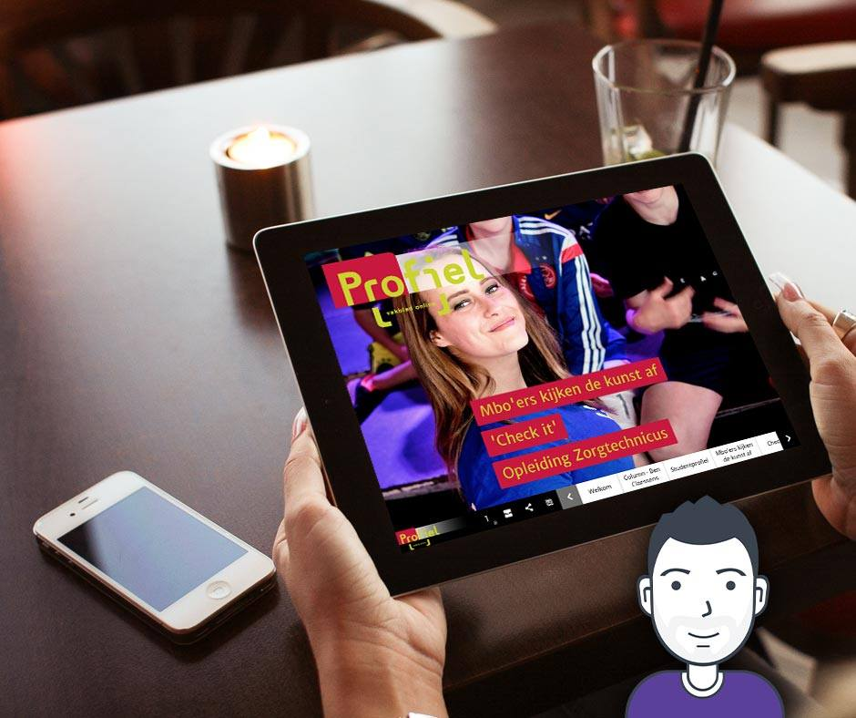 Profiel Actueel - Online Magazine ontwerp & realisatie